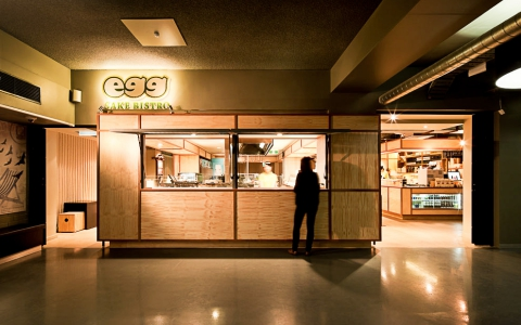 Egg Sake Bistro by Architects EAT