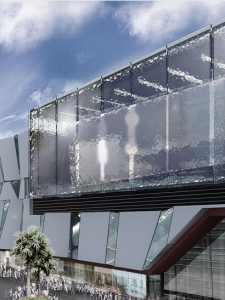 SM North Edsa Annex Mall by Architects EAT