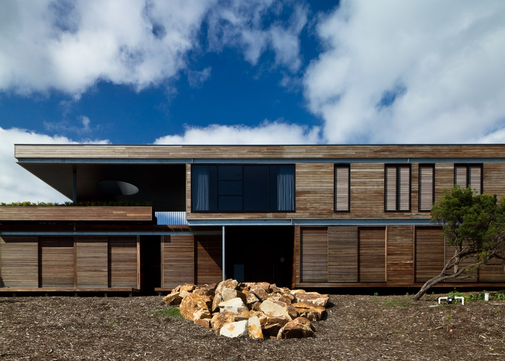 Linear House Architects Eat Architects Melbourne Australia