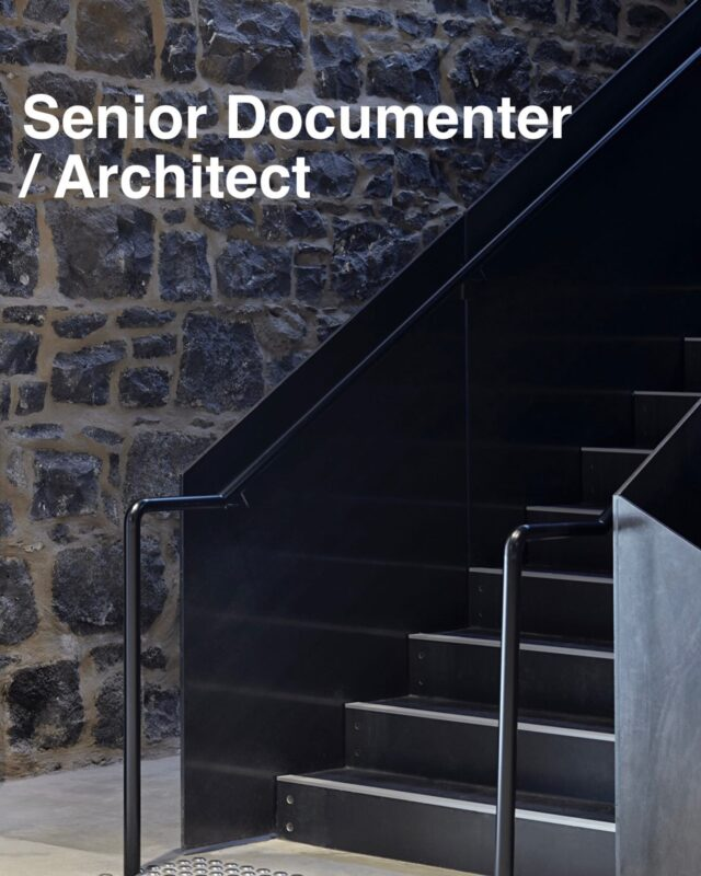 We are looking for a senior documenter or architect with 8+ year experience to join our highly- motivated, hard-working team. This is a full-time position for a skilled documenter to work with the directors across a range of multi-residential and office buildings.  Please get in touch if this sounds like you! DM or email to submit@eatas.com.au  Image project: #EATAlfredStables Photographer: @shannonmcgrath7